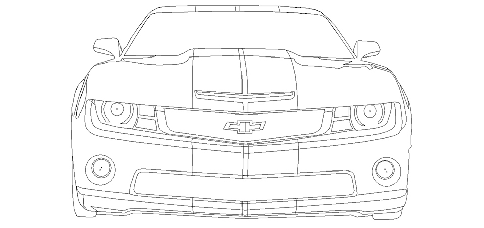 Camaro Illustrator
